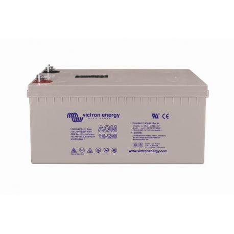 Battery Victron Energy Agm 12v 220ah Alma Solar The