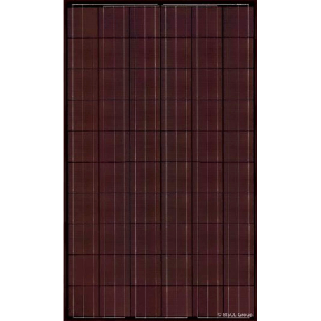 Solar panel BISOL SPECTRUM BMU-280 red