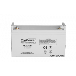 Battery ProPower GEL Deep Cycle 12V/100Ah
