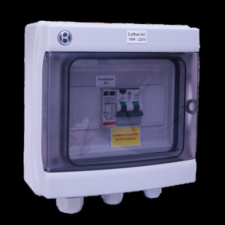 AC box 16 A 230 V AC single-phase AC 3-4 kW
