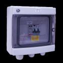 AC Box 16A 230VAC single-phase AC 3-4kW