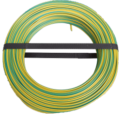 Masse cable 50m yellow/green 10mm²