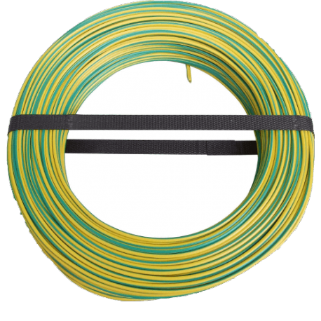 Ground cable 50m yellow/green 10 mm²