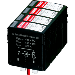 SMA DC overvoltage regulator Type II