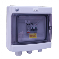 AC box 50A 230 V AC single-phase AC 7-10 kW