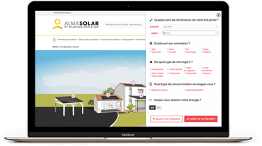 Use our simulator saves energy photovoltaic