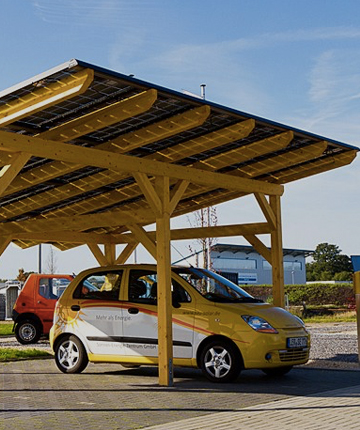 solar panels on your garage at the best price
