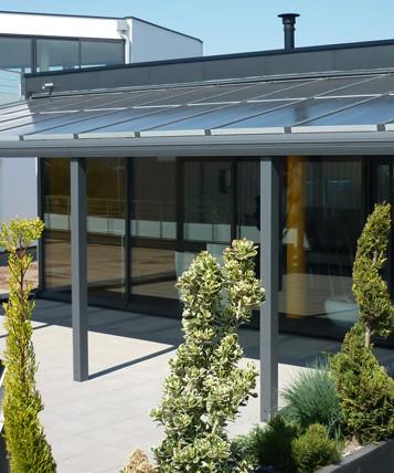 solar panel on the pergola at the best price