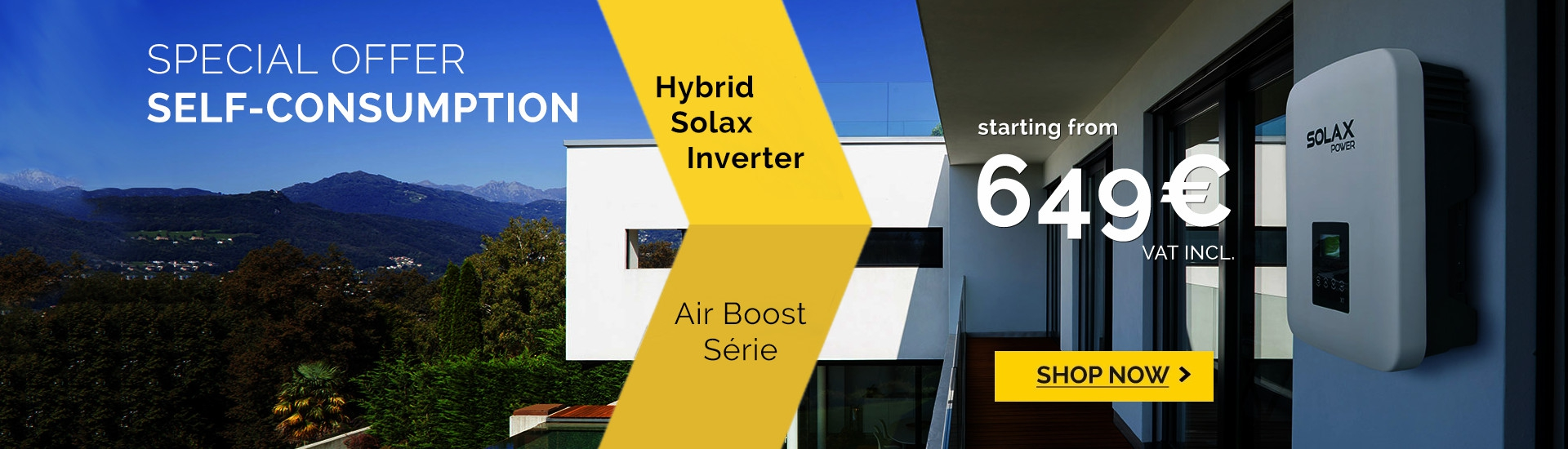 SolaX Hybrid inverter X1-Air Boost 3000