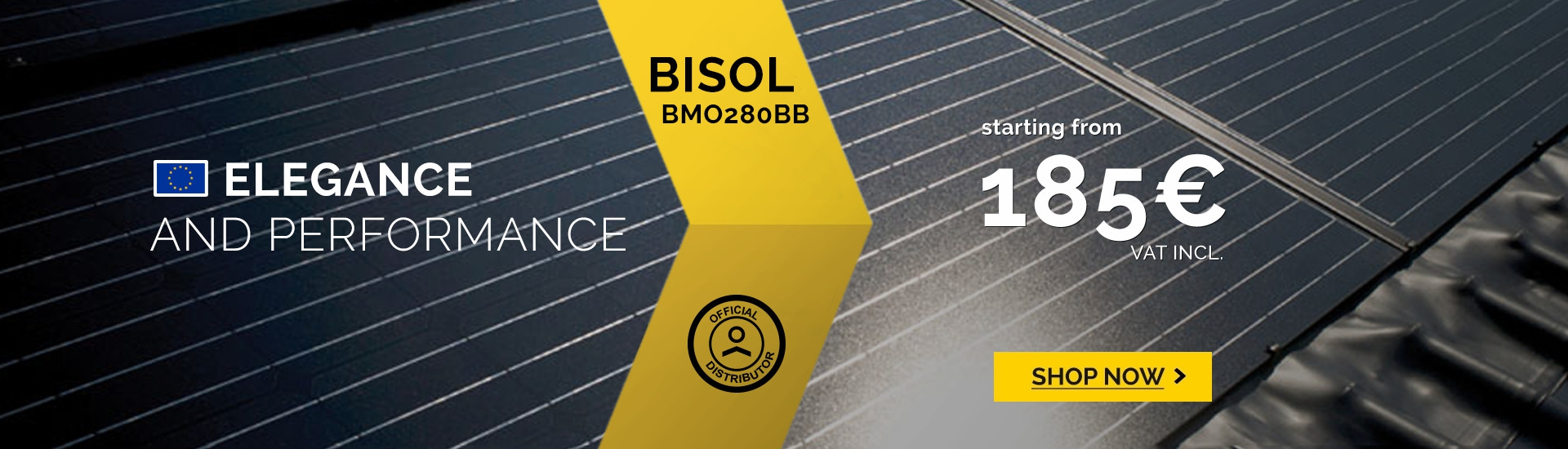 Solar panel Bisol BMO 280 black