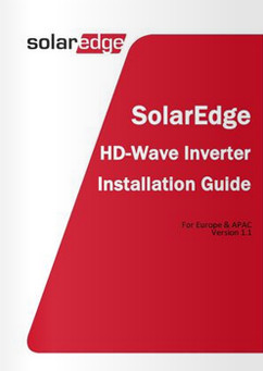 SolarEdge HD Wave Installation